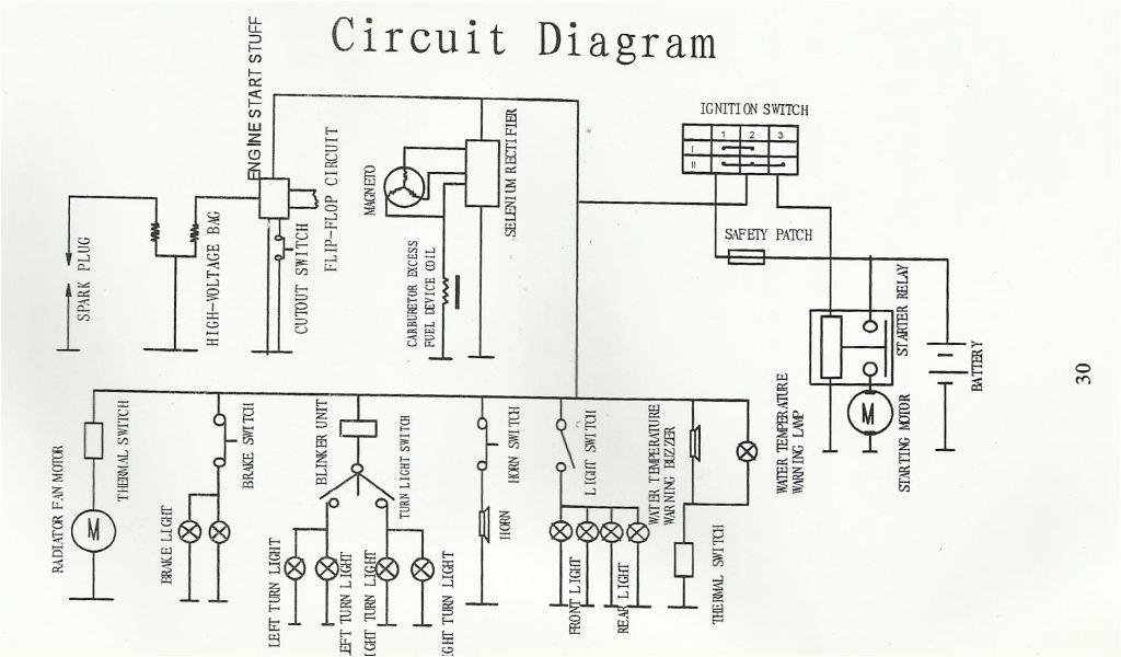 kinroad go karts wire diagram