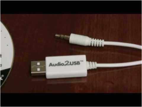 3 5mm audio to usb cable adapter
