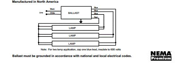 wiring diagram for 3 lamp ballast wiring diagram inside3 bulb ballast wiring diagram 6