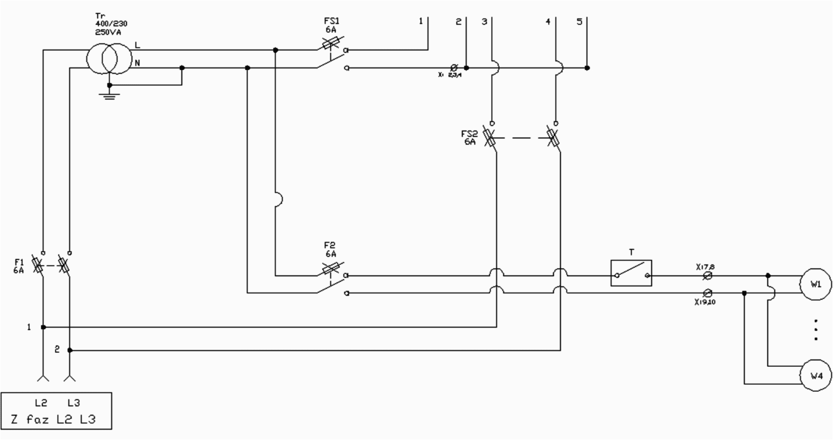 control circuit of capacitor bank