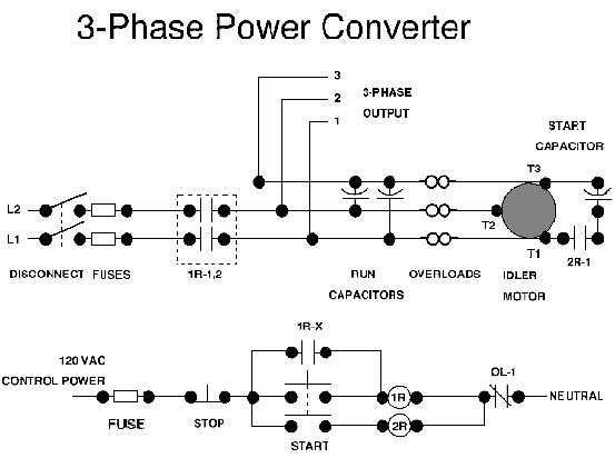 3 phase power converter