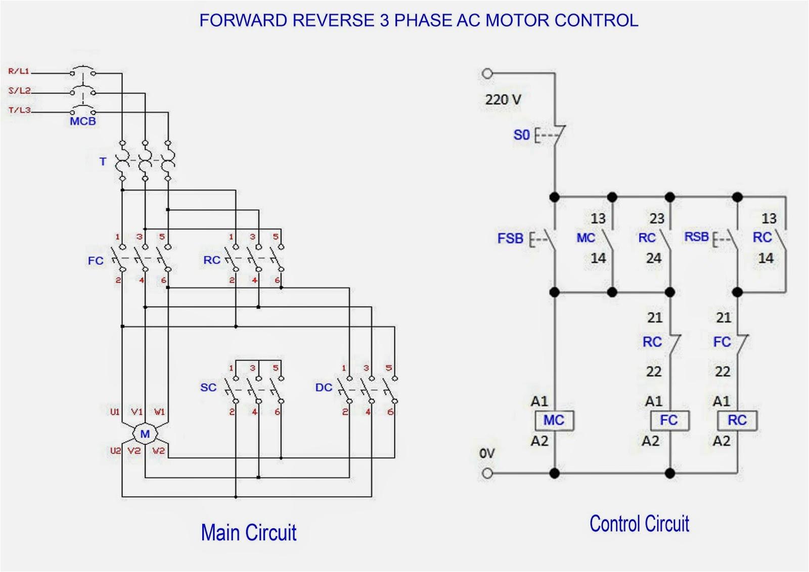 3 Phase Electric Motor Wiring Diagram 3 Phase Motor Starter Wiring Wiring Diagram Database