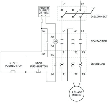 single phase motor contactor wiring diagrams single phase motor electric motor starters wiring schematics
