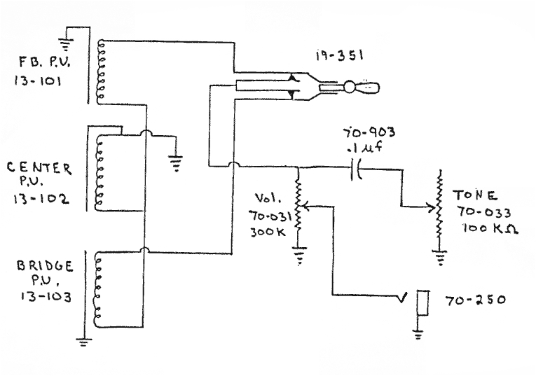 wiring schematic for gibson grabber g3 bass guitar