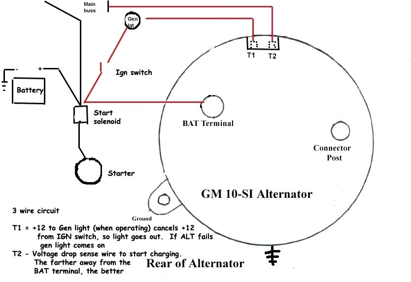 chevy one wire alternator diagram wiring gm alternator diagram wiring diagram schematics one wire alternator wiring