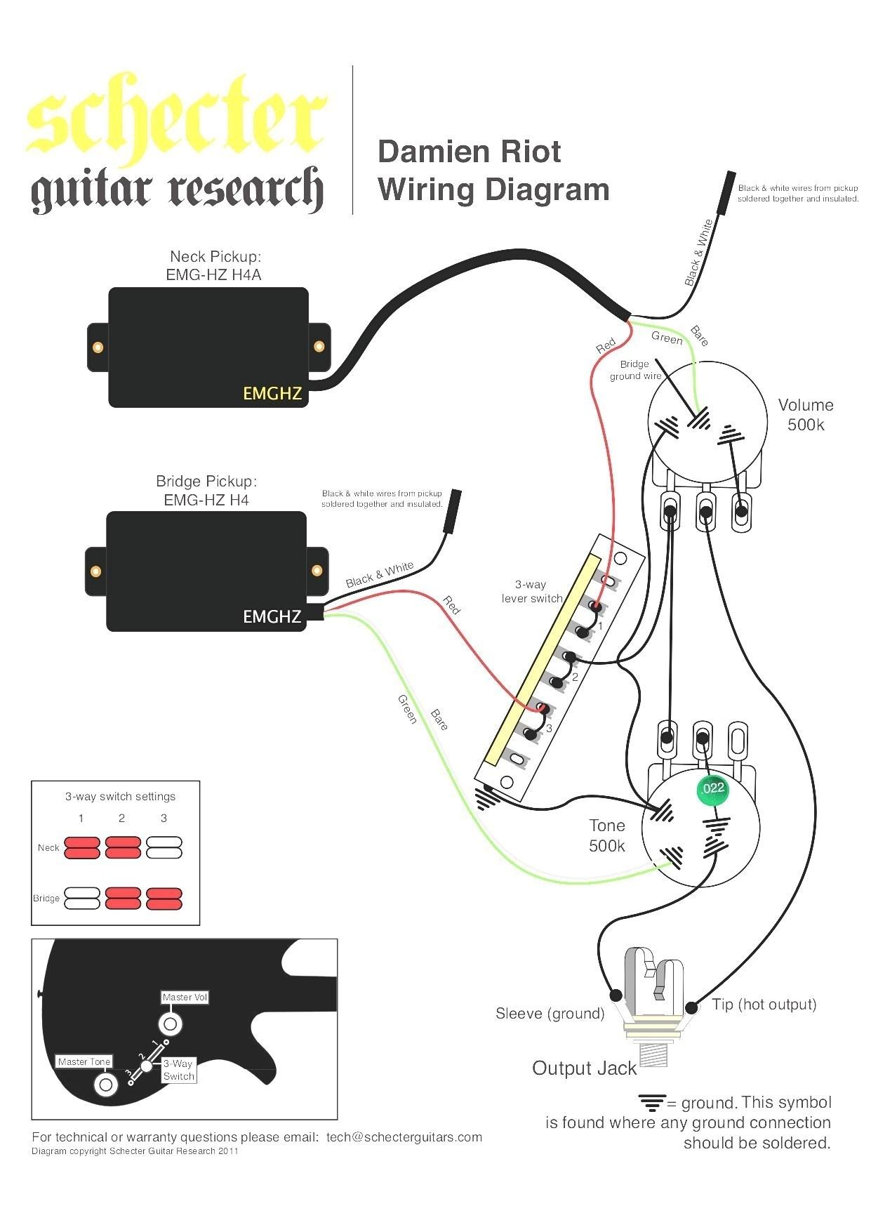 3 way switch wiring guitar