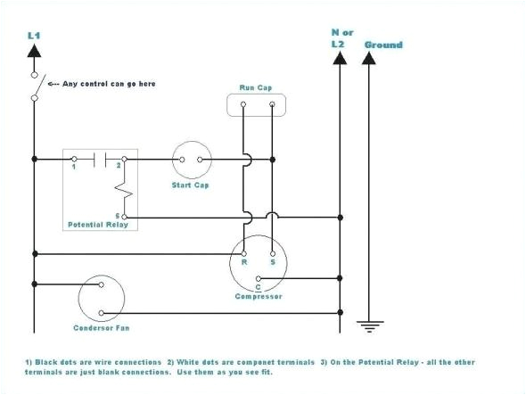 emerson compressor motor wiring diagram