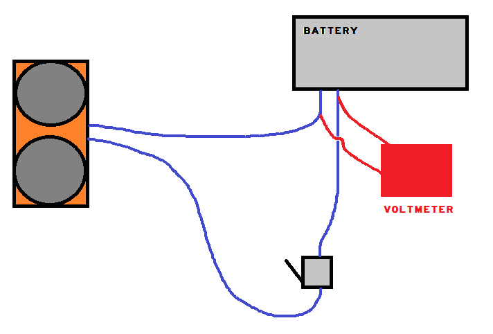 3 Wire Voltmeter Wiring Diagram Wiring A Voltmeter See 1st Comment Nerf