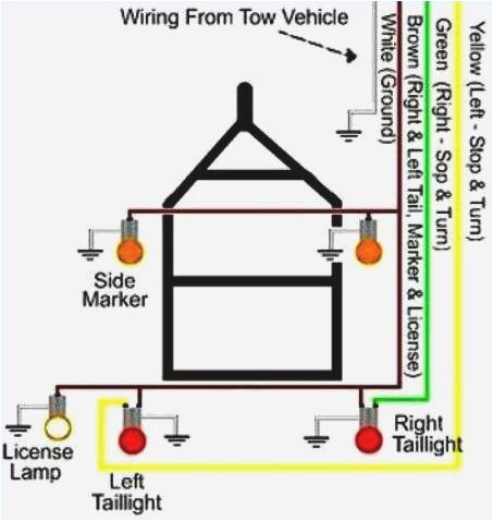 4 Pin Trailer Light Wiring Diagram 4 Pin Flat Trailer Wiring Harness Wiring Diagram Mega