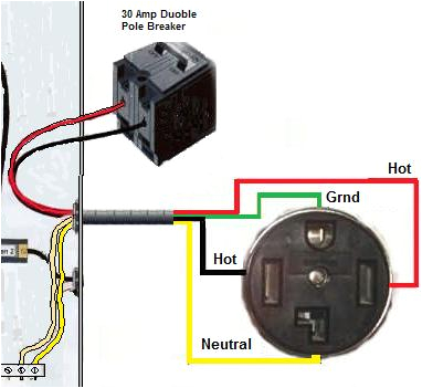 wire a dryer outlet4 prong dryer outlet wiring diagram