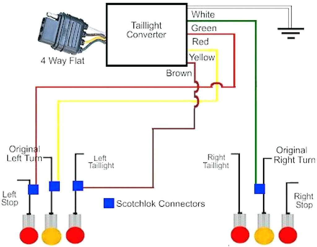 4 wire trailer schematic wiring diagram info