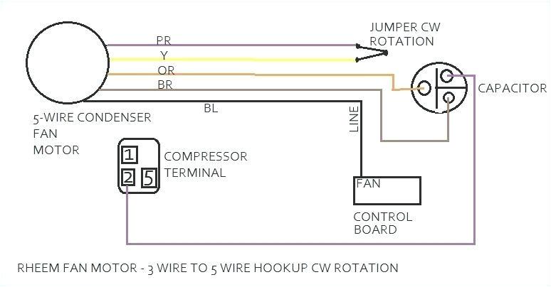 ac condenser wiring diagram