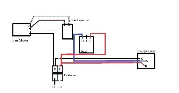 universal condenser fan motor installing wiring diagram replacing ac club single phase compressor