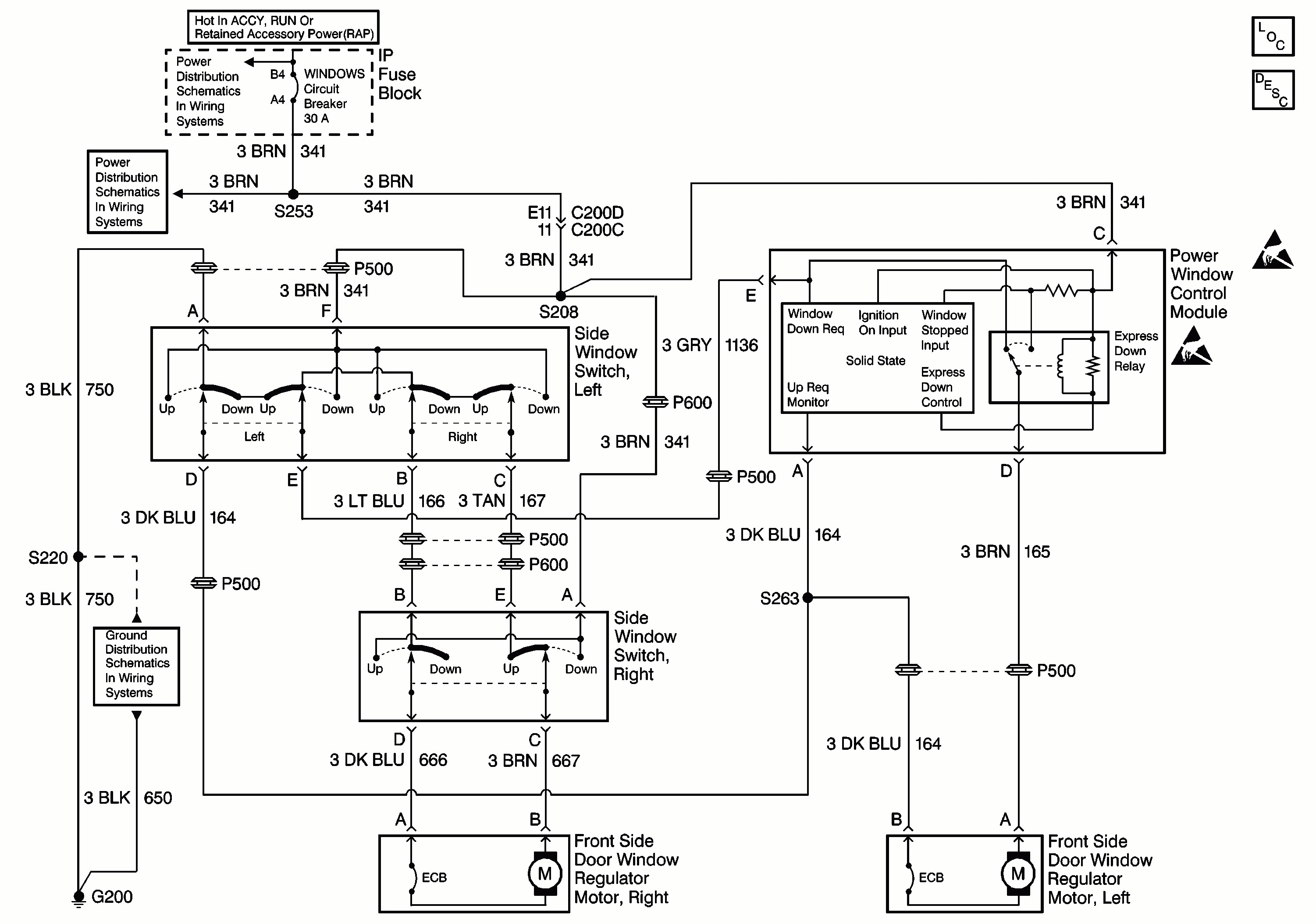 toyota power window switch wiring diagram window switch wire diagram 4 free download wiring diagrams gif