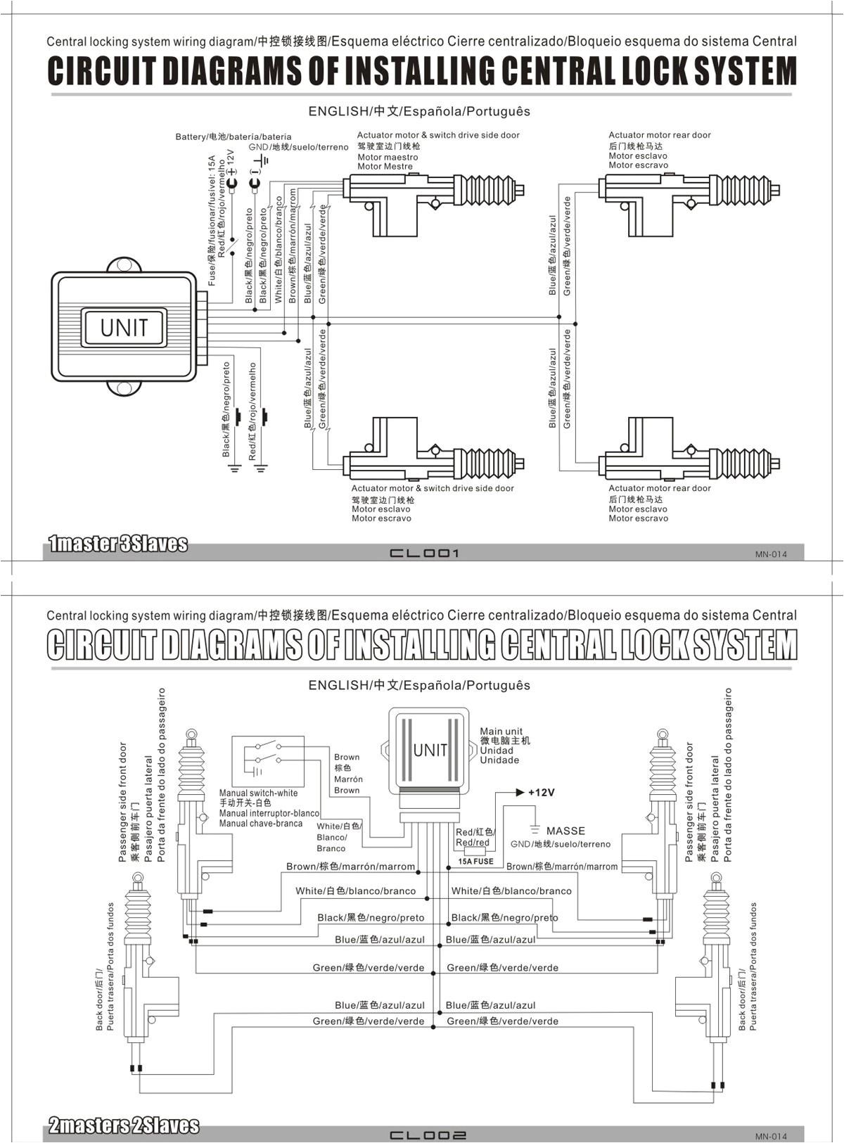 5 Wire Central Locking Actuator Wiring Diagram Wiring Diagram Nmax 8 Yamaha Fresh 5 Wire Central Locking Actuator