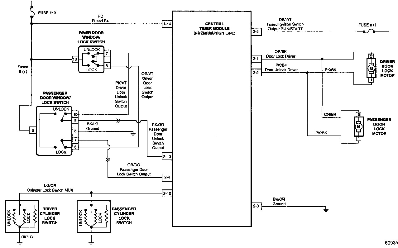 5 Wire Door Lock Relay Diagram Power Door Lock Wiring Diagram toyota Lh113 Wiring Diagram Meta