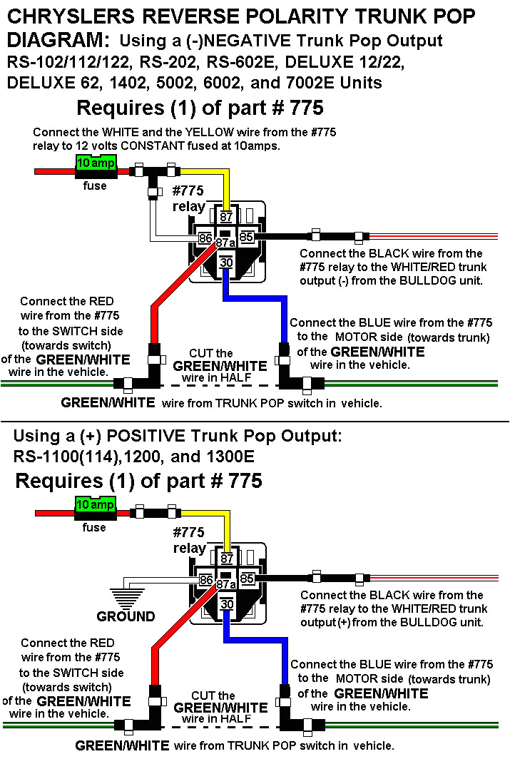installation diagrams bulldog car alarm wiring diagram