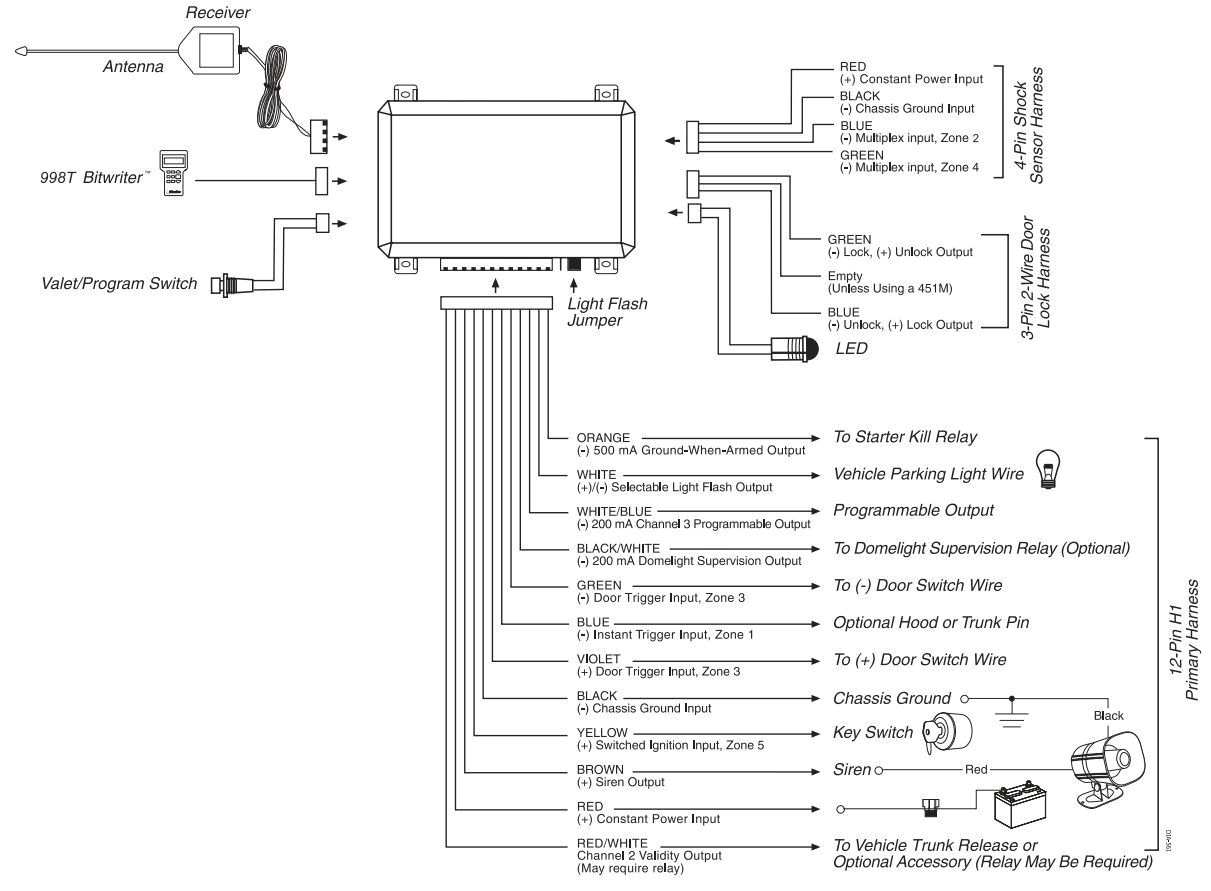 dei 451m wiring diagram
