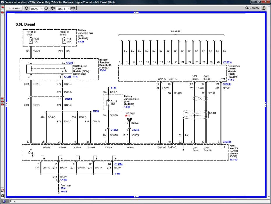 ford 6 0 wiring diagram wiring diagram show ford 6 0 injector wiring diagram 6 0 powerstroke