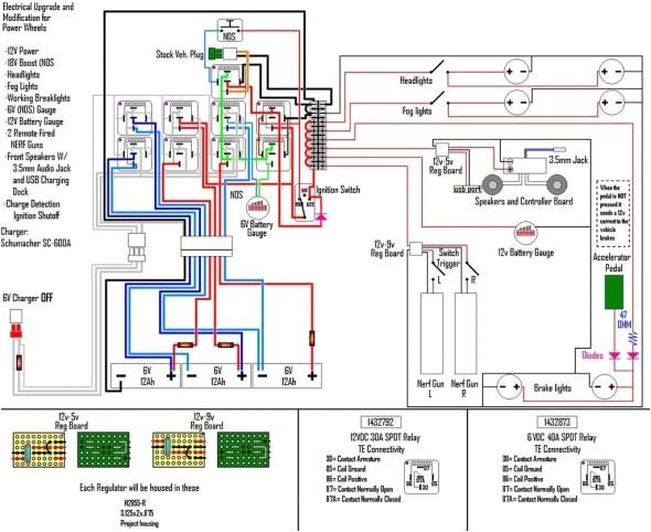 6 volt positive ground wiring diagram 12 volt positive ground wiring diagram