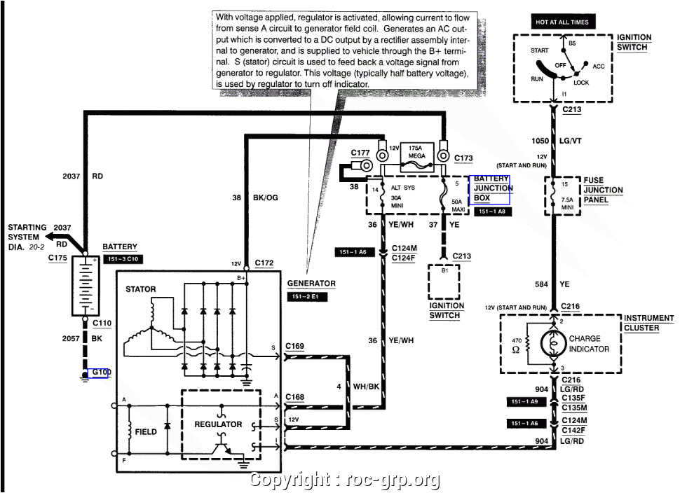 ford explorer alternator diagram wiring diagram insider 1999 ford explorer alternator wiring diagram data diagram schematic