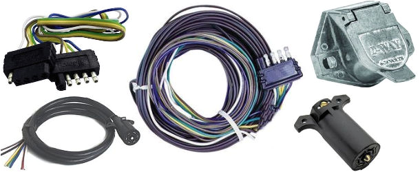 trailer wiring plugs and sockets