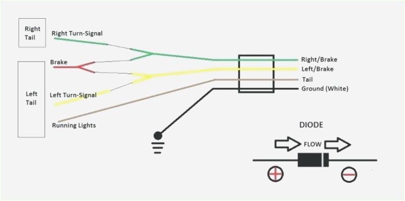 4 way trailer plug wiring diagram lights wiring diagram new 4 way to 7 way trailer plug wiring 4 way trailer plug wiring