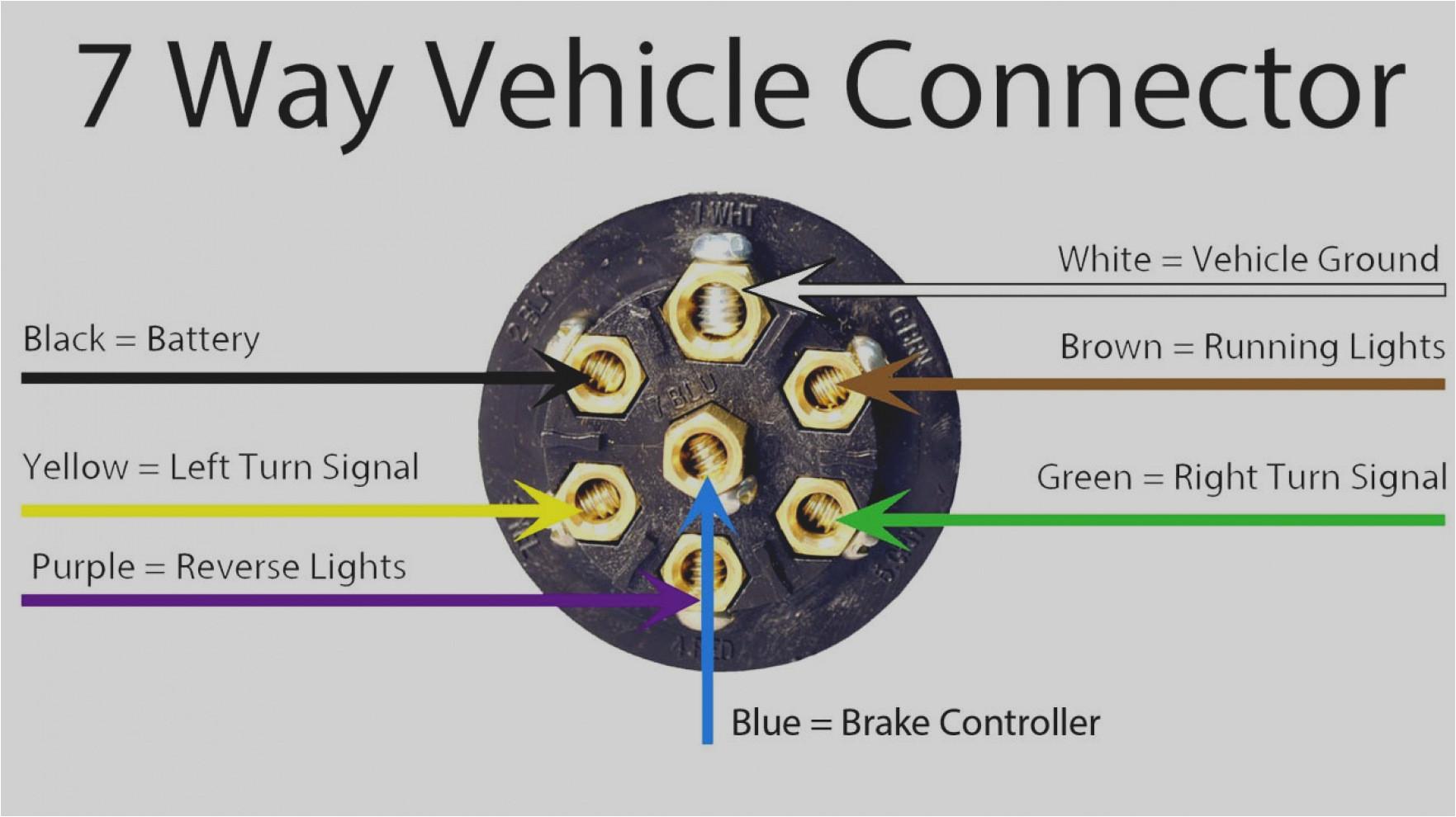7 Pin Round Trailer Wiring Diagram 6 Pin Round Trailer Wiring Diagram Free Download Wiring Diagram