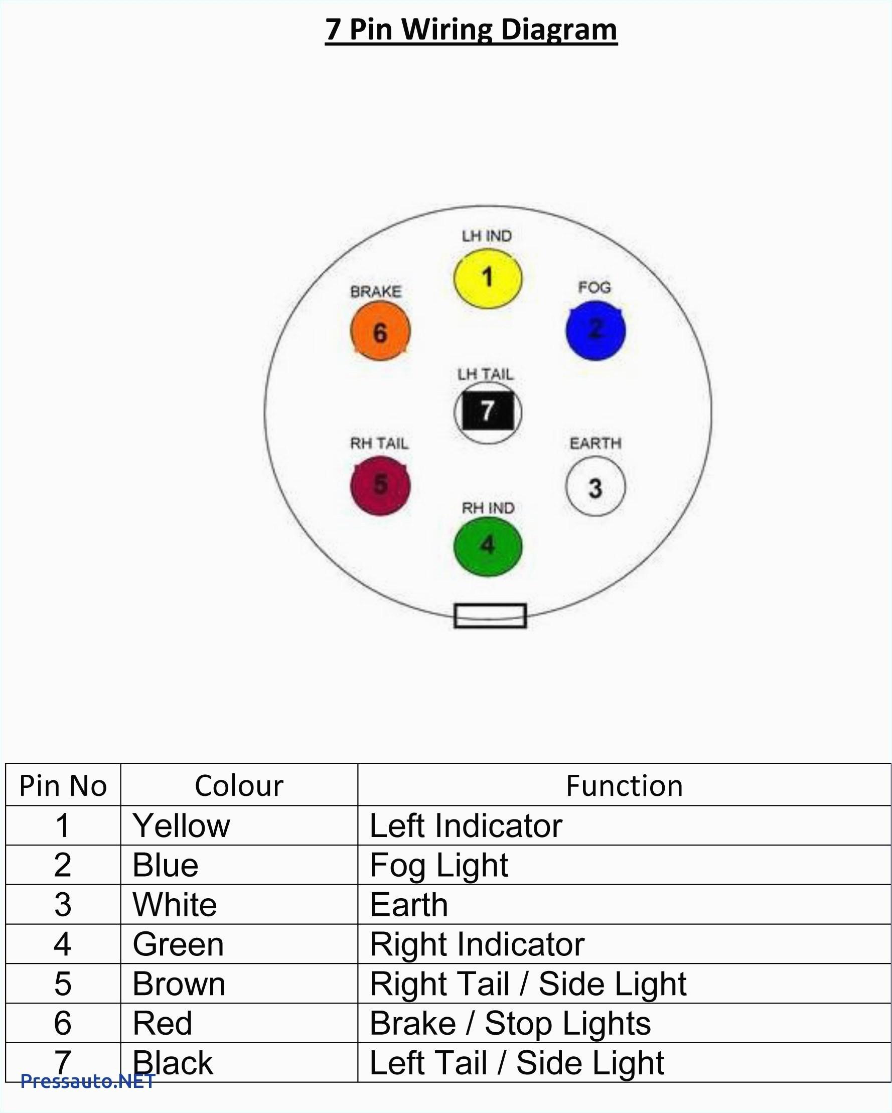 gm 7 pin tow wiring wiring diagram schema