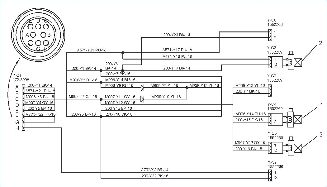 bobcat 7 pin connector diagram wiring diagram list bobcat 7 pin wiring