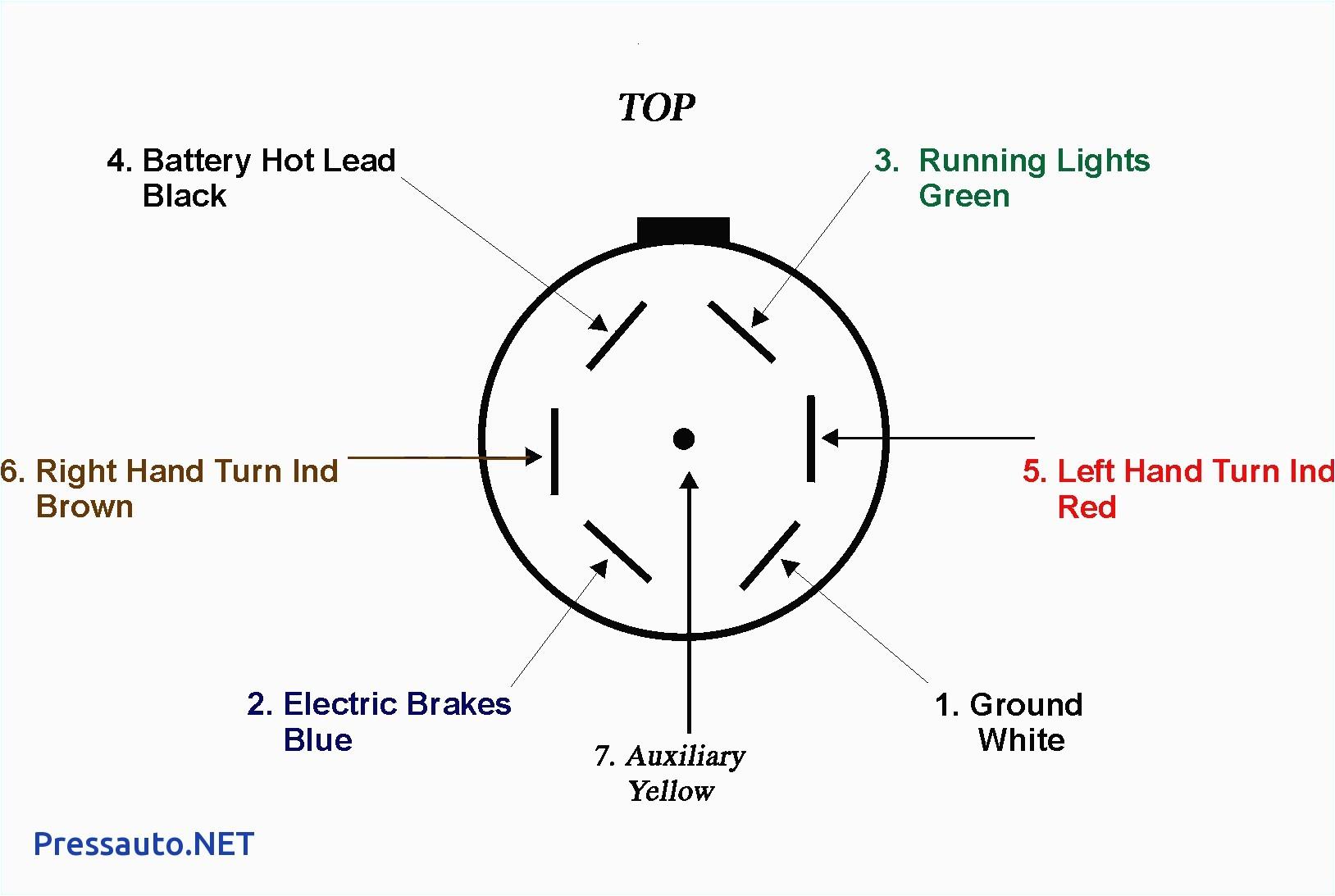 seven blade wiring diagram wiring diagram rows circle w trailer wiring diagram