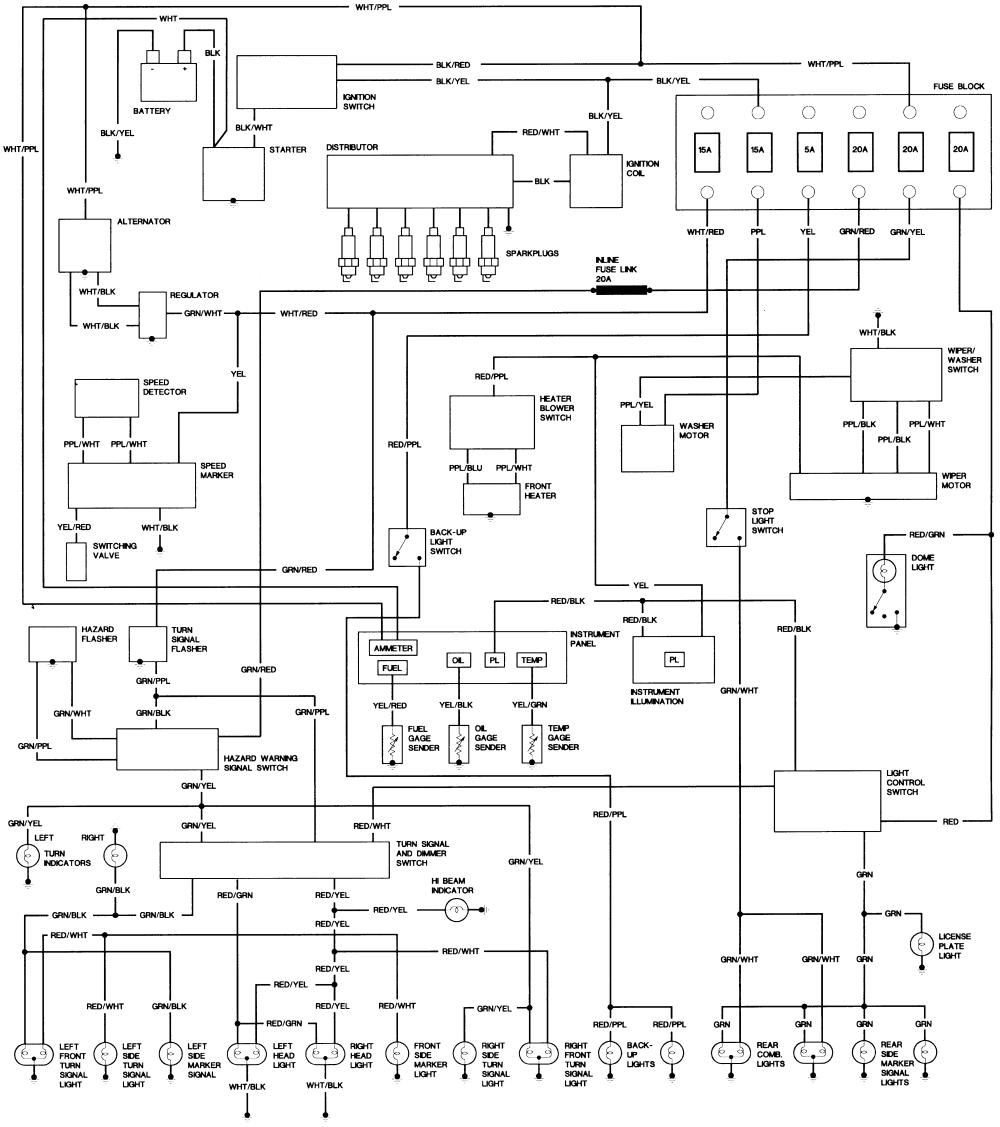 1991 fj80 wiring diagram wiring diagram autovehicle mix wiring diagrams toyota schema wiring diagramrepair guides wiring