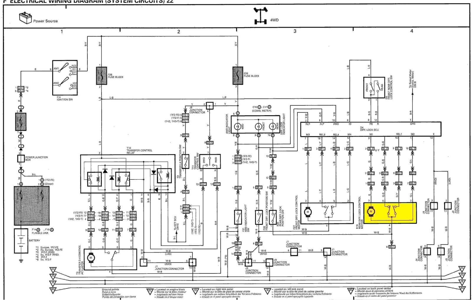 land cruiser wiring diagram data at 80 series landcruiser