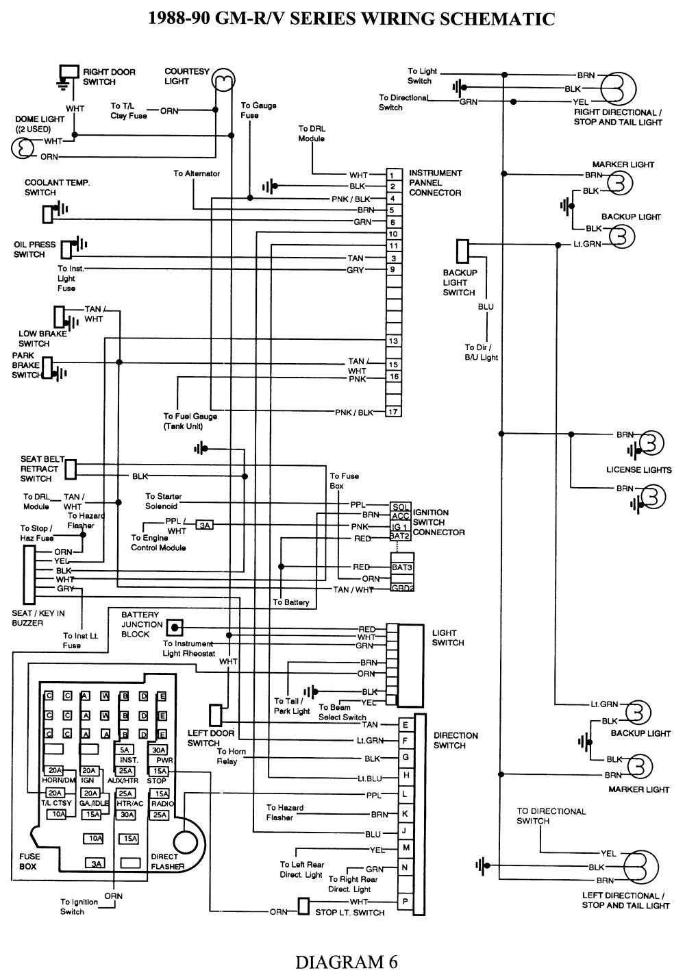 89 K5 Blazer Wiring Diagram C1500 Wiring Diagram Wiring Diagram Post