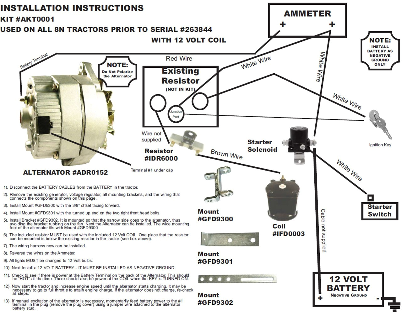 negative ignition volt beautiful positive ford data box starter manual switch harness converting solenoid unique steering diagram generator jpg