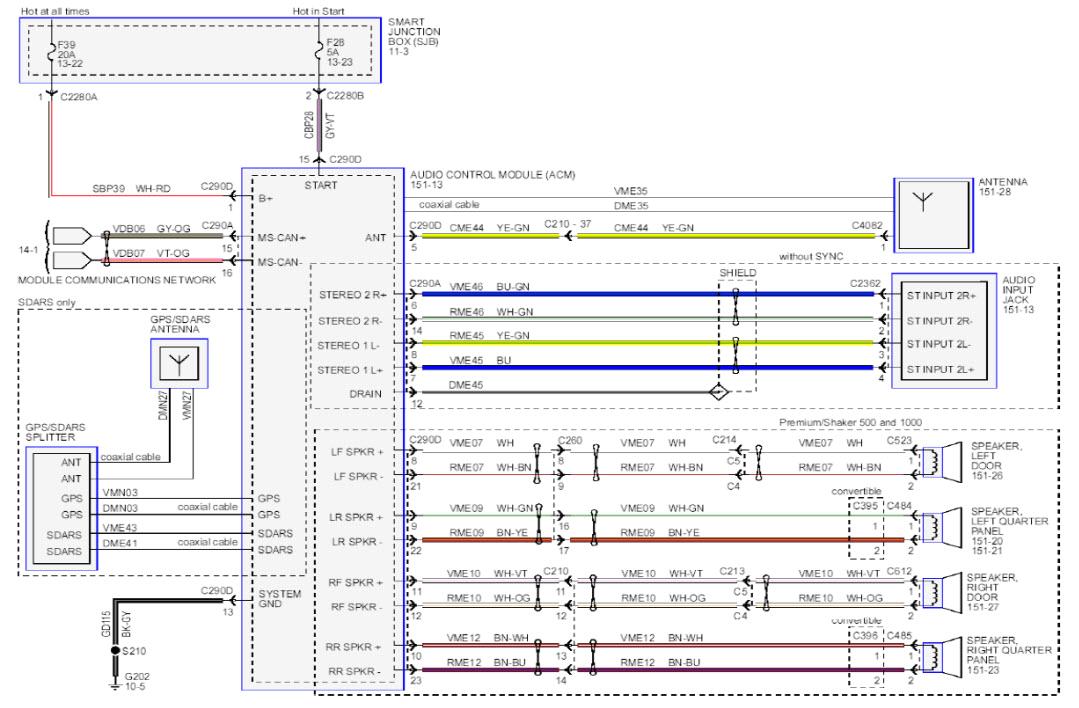 2005 09 ford mustang wiring diagram wiring diagram mega 05 ford mustang 5 0 wiring diagram