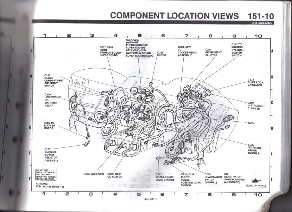 94 mustang wiring diagram