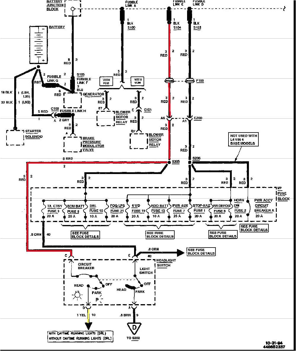 95 s10 fuse diagram wiring diagram mega 95 s10 radio wiring diagram 95 chevy s10 wiring