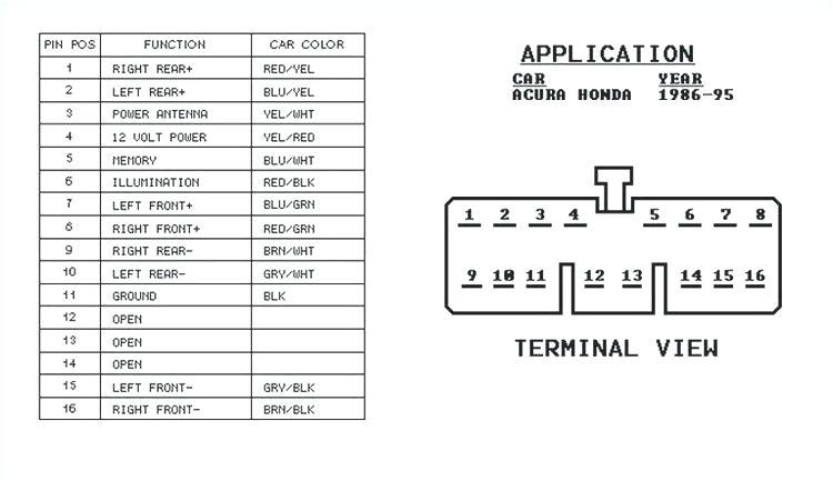 1999 honda accord radio wiring diagram wiring diagram article 1999 honda accord wiper wiring diagram