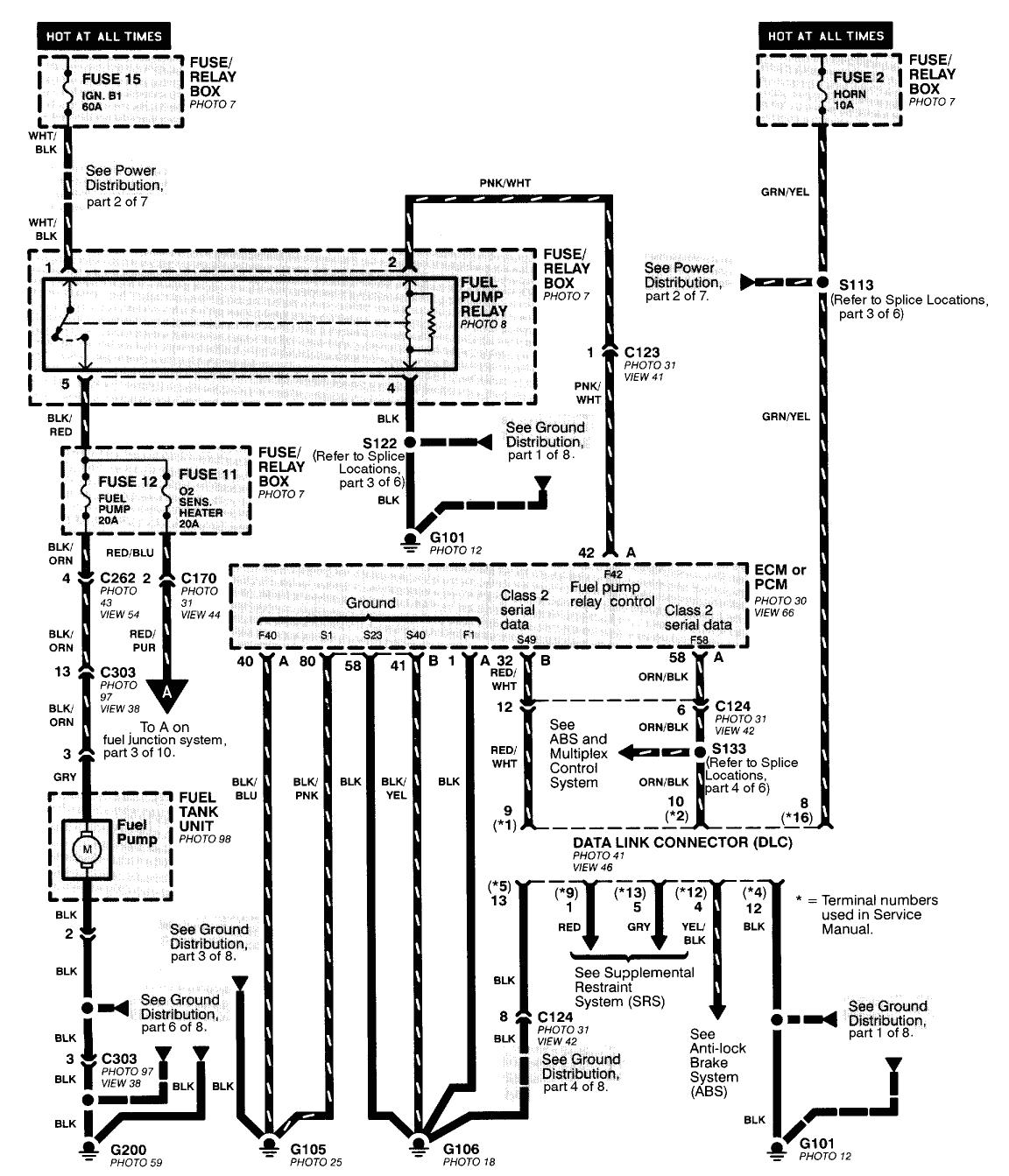 wiring diagram 98 honda civic wiring diagram usedwiring diagram for 1998 honda accord wiring diagram used