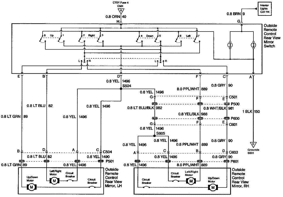 28244d1469570873 02 power mirrors 97 wiring help 1997 mirror schematic gif