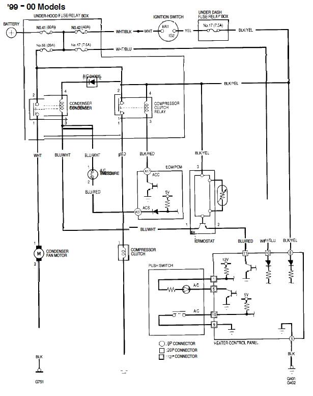 1998 honda civic ac wiring wiring diagram expert 1998 honda civic ac wiring wiring diagram compilation