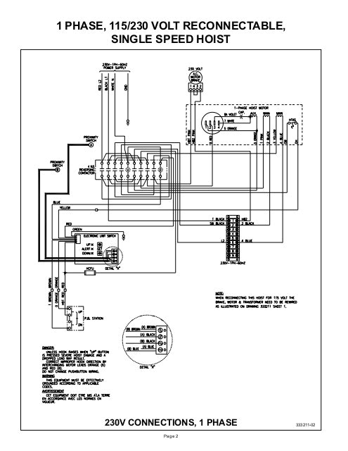 budgitar electric hoist wiring diagrams hoists direct jpg