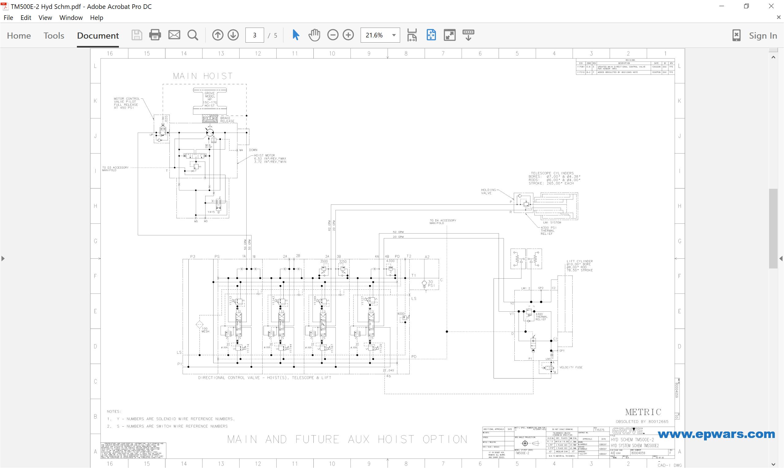 grove crane wiring diagram png