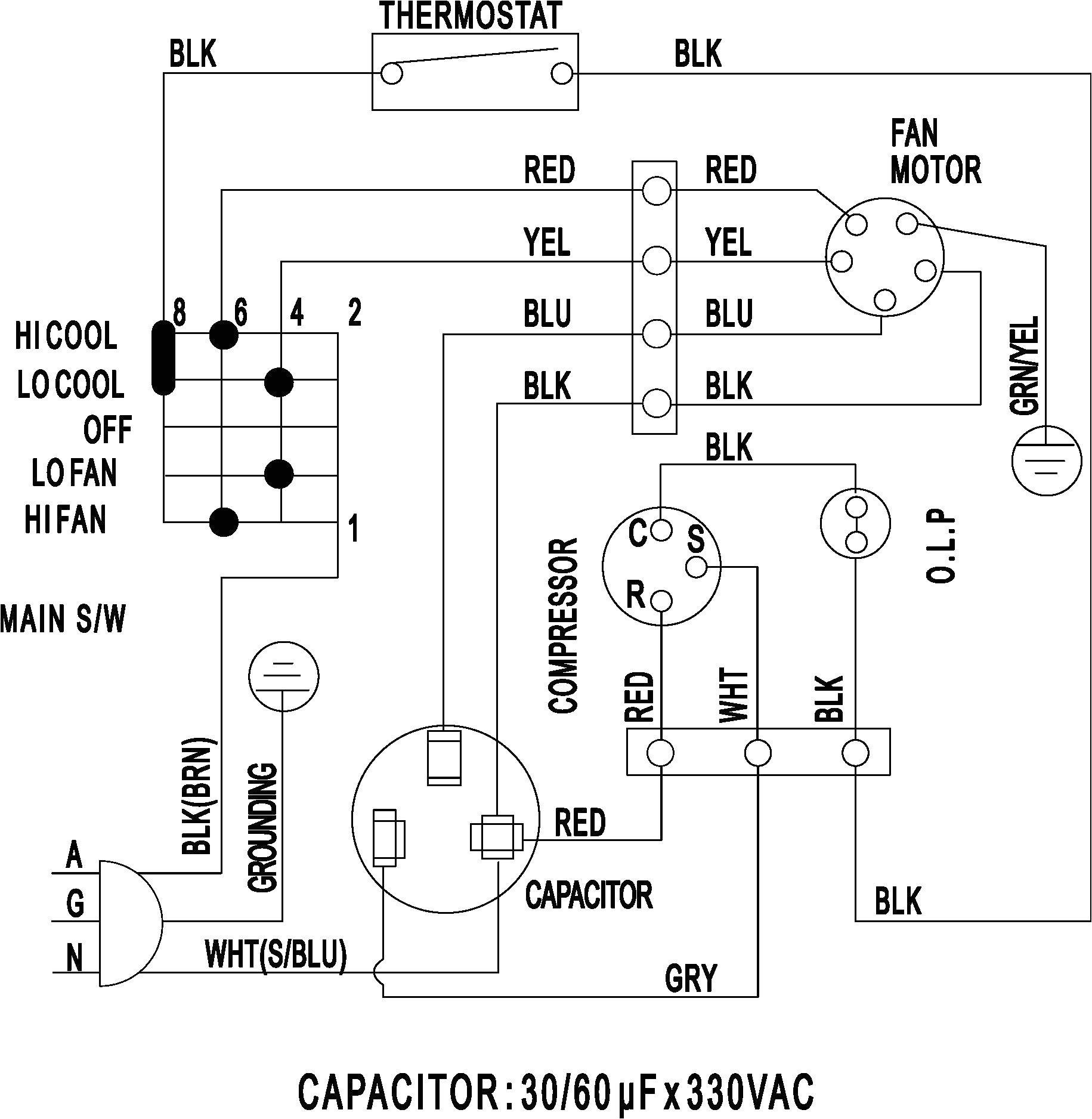 Air Conditioner Wiring Diagram Pdf Hvac Ac Diagram Wiring Diagram Database