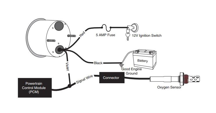 Air Fuel Ratio Gauge Wiring Diagram 2 Wire Fuel Gauge Diagram Wiring Diagram Info