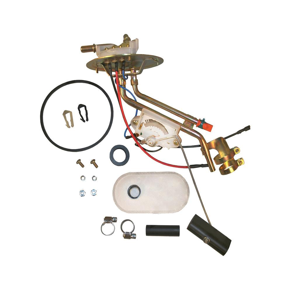 fuel sender and hanger assembly