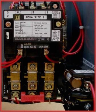 ab motor starter wiring diagram