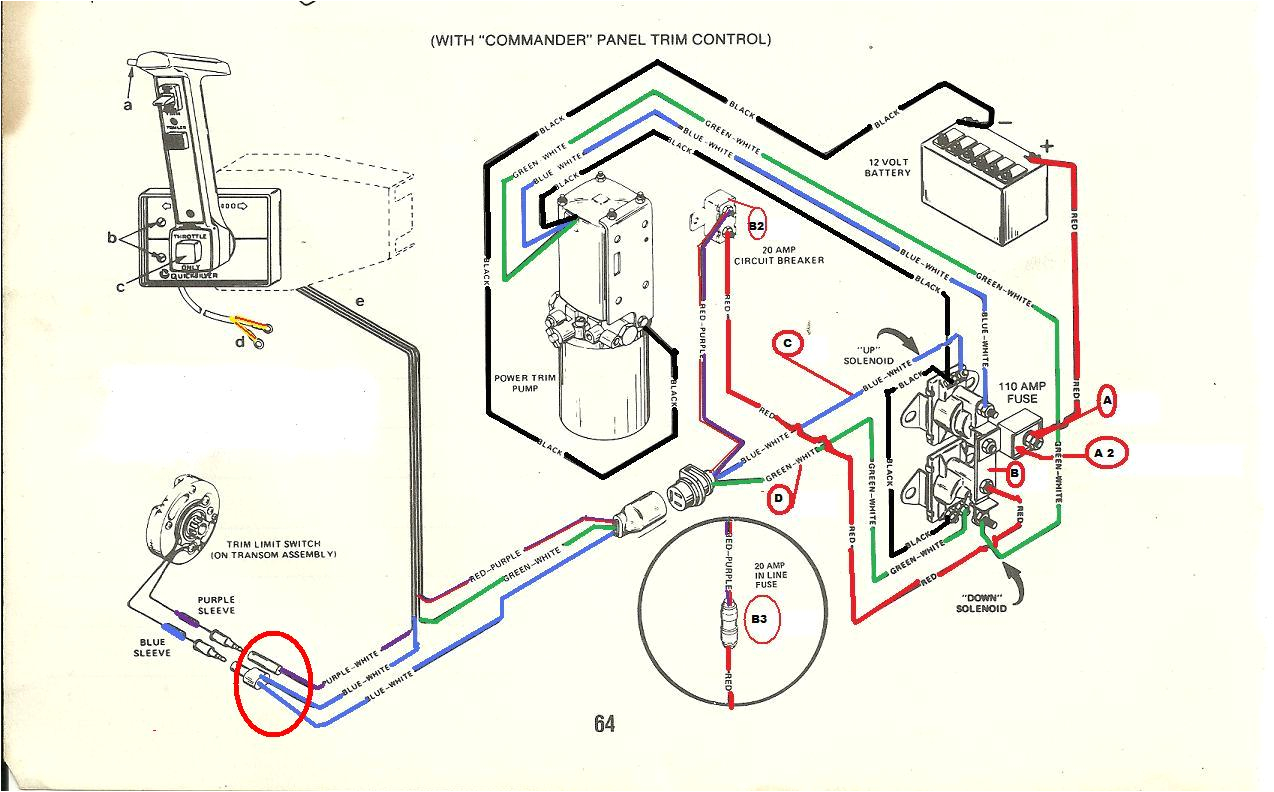 i have a mercruiser alpha 1 1996 the up trim does not activatealpha wiring diagram 20