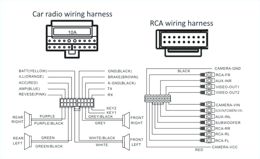 pioneer car radio stereo wiring loom diagram harness throughout bypass on net captures within us audio